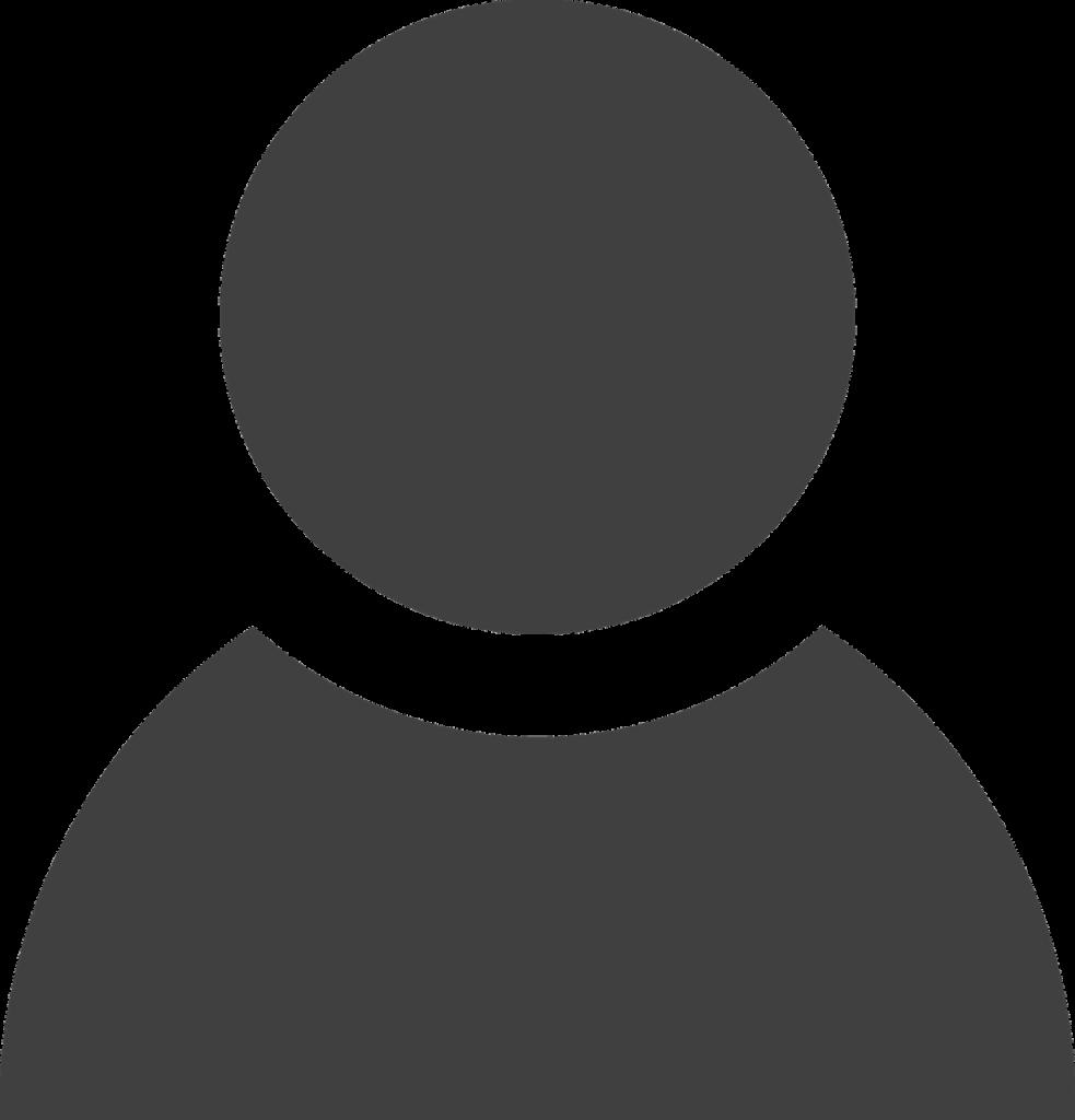 Icône d'une personne en noir